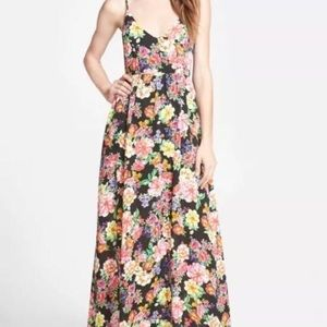 Lucca Couture Strappy Floral Dress XS NWT